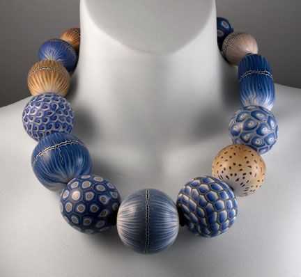 Donna Kato Squiggle beads - Google Search
