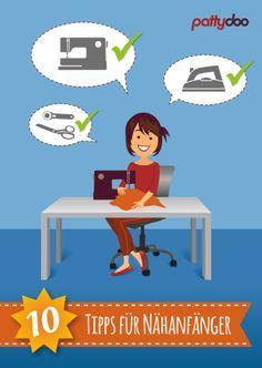 10 Tipps zum Nähen lernen für Anfänger: Werkzeuge & Techniken, kostenlose Anleitungen von pattydoo