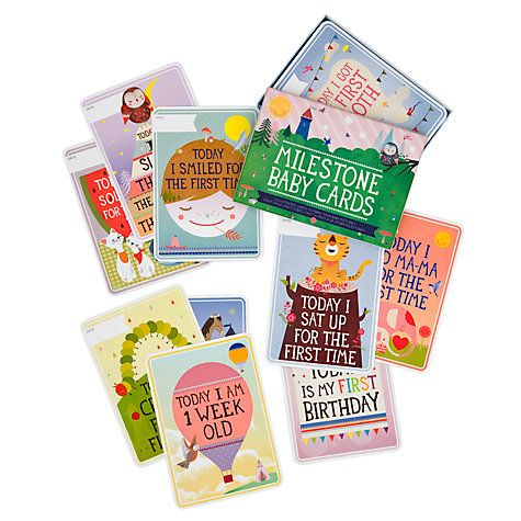 Buy Milestone Baby Cards Set, Pack of 30 Online at johnlewis.com