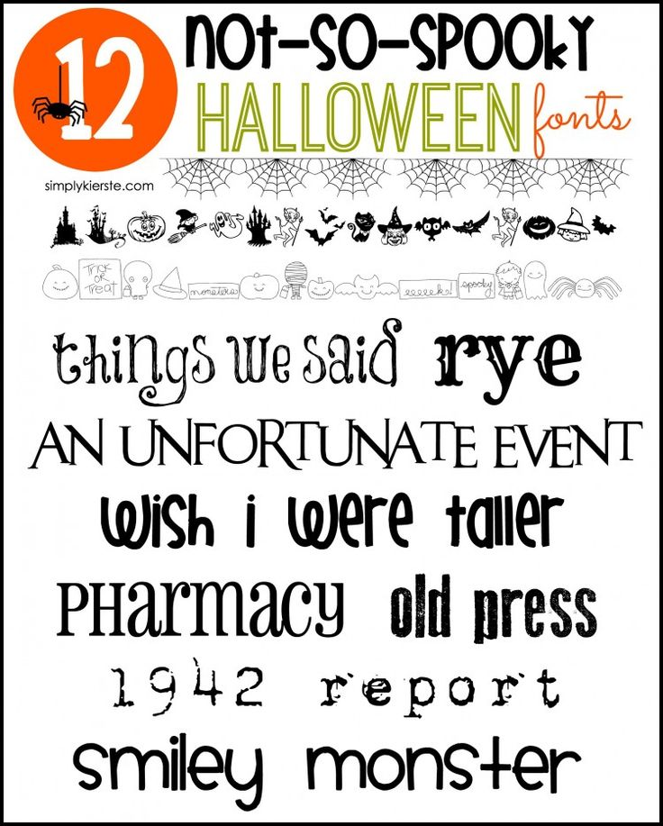 halloween text font photoshop