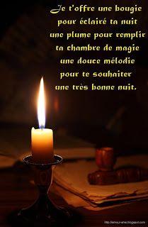 message bonne nuit
