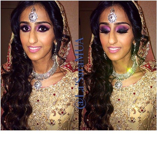 Wedding shenanigans part II- makeup/hair/styling by me.  @rabbiaaa   #mac #macgirl #ilovemakeup  #iloveigmuas #ilovemaciggirls #makeup #makeupartist #artist #motd #lotd #potd #mua #beauty #makeupaddict #beatthatface #ibeatfaces #makeuphoneys #makeupgeek #igmakeup #instamakeup #makeupdolls #beautyguru #makeupmobb #pakistaniwedding #desiwedding #indianwedding #weddingseason #wedding #bridal #glam