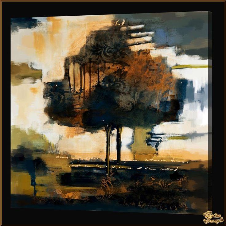 Abstract - 544 Абстракция, картины, картина маслом, сувенир, подарки
