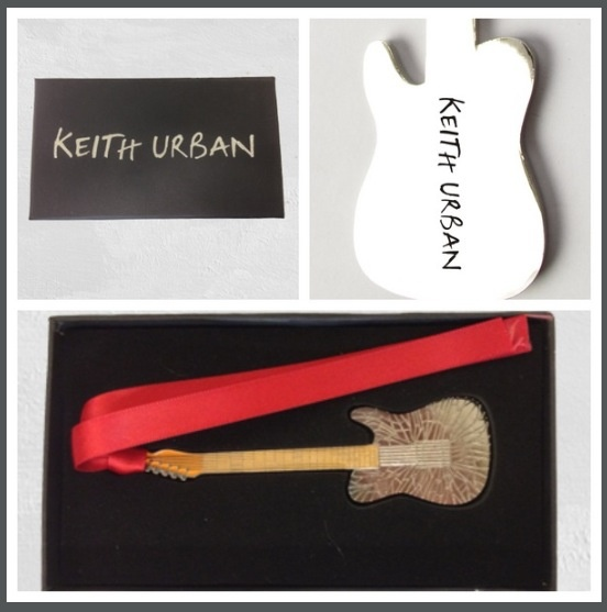 Limited Edition @Keith Urban  Guitar ornament......get it before they sell out!!! www.keithurban.net/shop