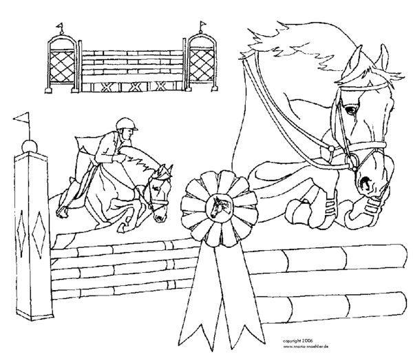 Die 25+ besten Ideen zu Ausmalbilder pferde auf Pinterest ...