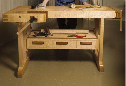 Craftsman's workbench – Canadian Home Workshop