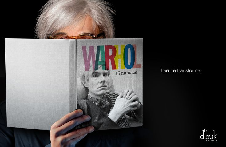 Czytanie cię zmienia #Warhol