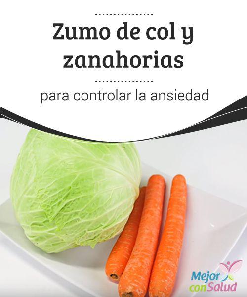 Zumo de col y #zanahorias para controlar la #ansiedad El zumo de col y zanahoria es una bebida rica en #antioxidantes, #vitamina C y otros #nutrientes esenciales que pueden ayudar a controlar la ansiedad. #Recetas