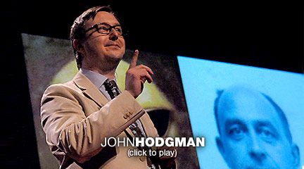 John Hodgman: Aliens, love -- where are they?  Humorist John Hodgman rambles through a new story about aliens, physics, time, space and the way all of these somehow contribute to a sweet, perfect memory of falling in love.