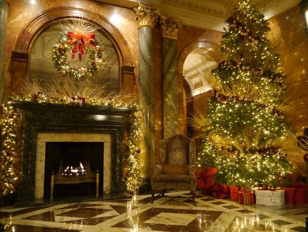 23 Best Images About Hotels At Christmas On Pinterest