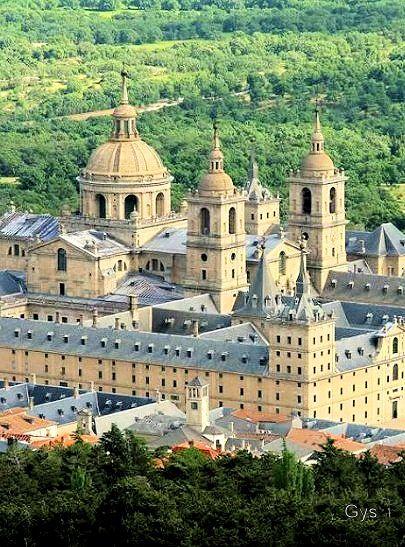 Monasterio de El Escorial, Madrid, España