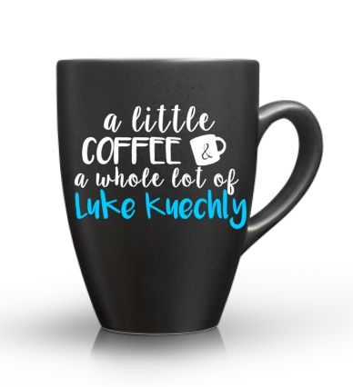 Luke Kuechly Coffee Mug – Carolina Mom Designs