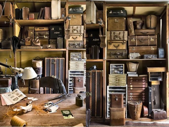 Arte&viaggi vintage,showroom bauli vintage, cappelliere vintage, borse e borsoni vintage d'epoca.Selezionati cappelli vintage d'epoca e acce...