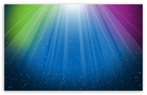 Aurora Burst Blue Green Purple Colorful HD wallpaper for ...