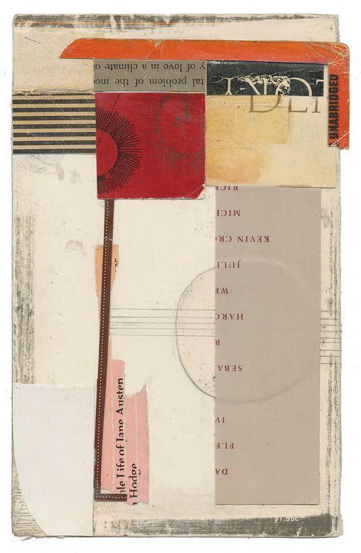 Art from ephemera by Melinda Tidwell