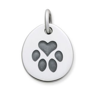 Heart Paw Pet Tag Charm: James Avery