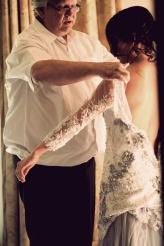Schalk van Dyk, Wedding dress designer!