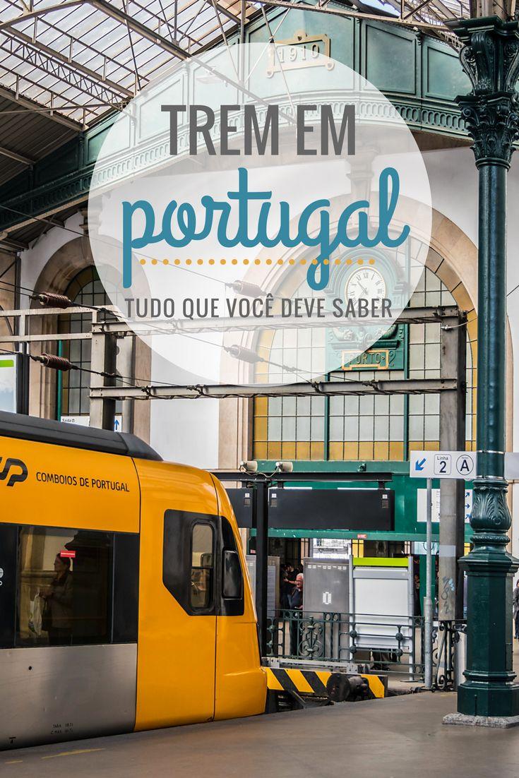 Viajar de trem em Portugal é uma das melhores e mais práticas formas de se locomover pelo país! Veja tudo o que você deve saber desde a compra dos tickets, os tipos de trens e destinos!