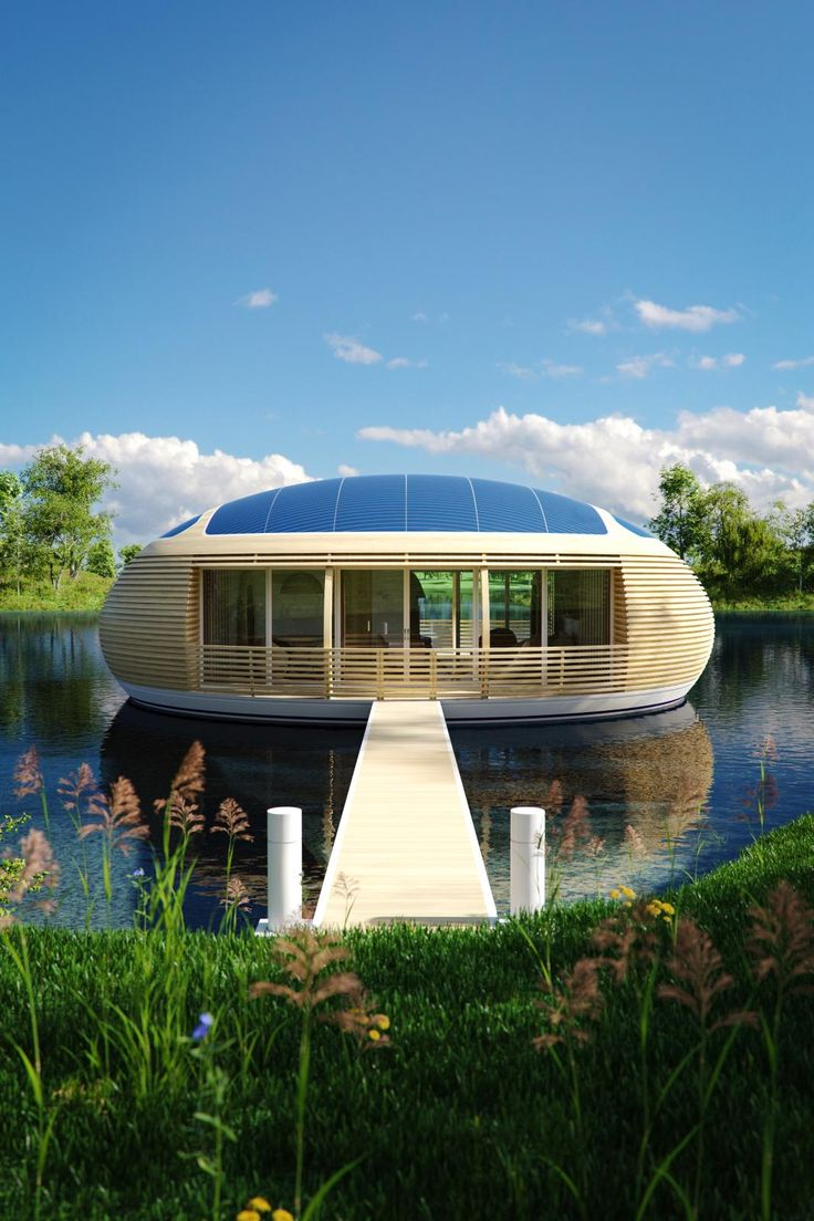 #Take a #look at #WaterNest 100- designed by #architect #Giancarlo #Zema for #EcoFloLife, a #UK #company specialised in the #construction and #sale of #residential #floating #structures. ENG VERSION: http://top-yachtdesign.com/waternest-living-on-water/ ITA VERSION: http://top-yachtdesign.com/it/waternest-vivere-sullacqua/