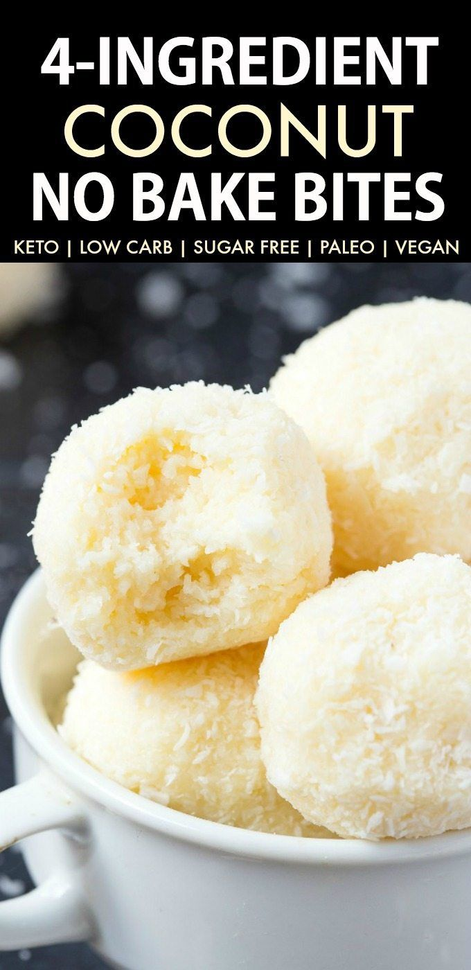 No Bake Coconut Balls Just 4 Ingredients The Big Man S World Recipe Keto Dessert Recipes Vegan Snacks Keto Dessert Easy