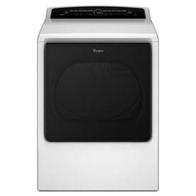 Whirlpool 8.8-cu ft Gas Dryer (White)