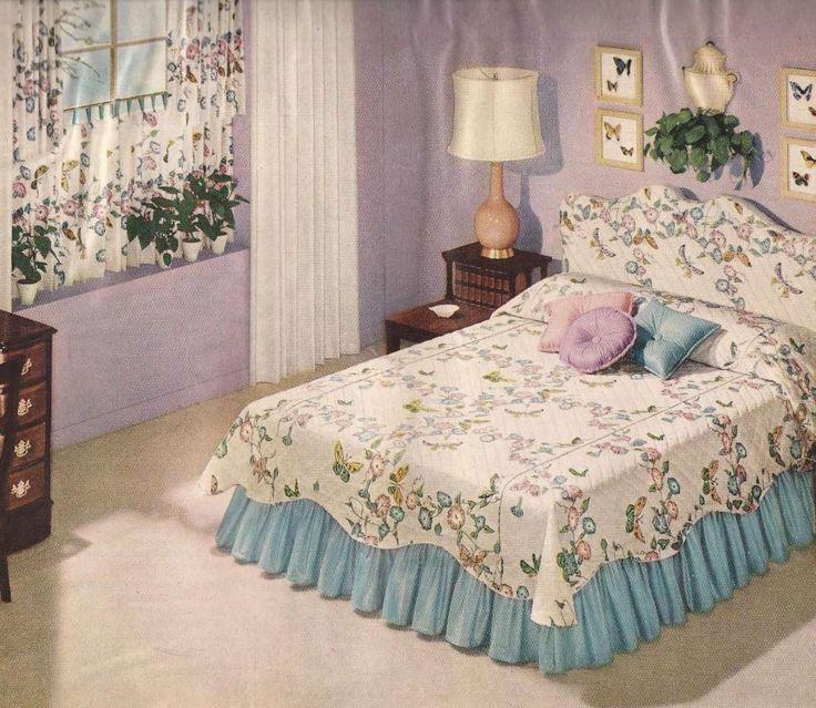 10+ Wonderful 1950S Bedroom Decor Photos | Vintage bedroom ...