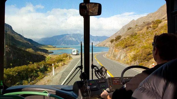 Driving Queenstown to Mt Cook