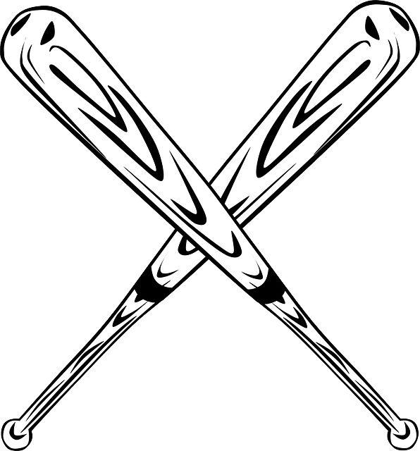 Free Image On Pixabay Baseball Bat Bat Baseball Baseball Bat Drawing Baseball Vector Softball Clipart