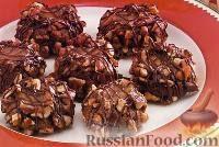 Фото к рецепту: Шоколадно-карамельное печенье