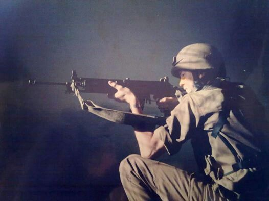 South African soldier, best of the best.