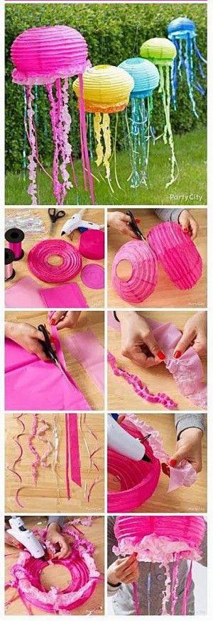 Объемные медузы