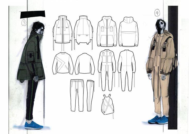 Fashion Sketchbook - fashion design drawings; fashion portfolio // Annie Mckie
