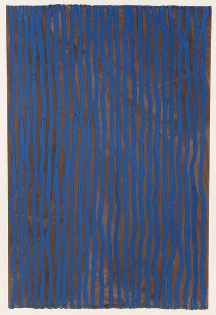"Sol LeWitt ""Wavy Vertical Lines"", 2005"