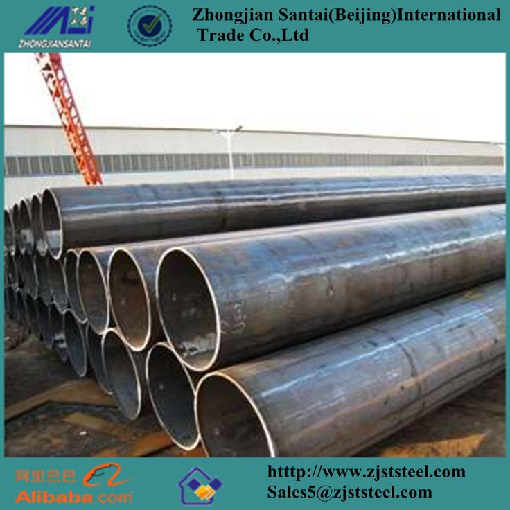 ERW schedule 40 black carbon steel pipe used for oil and gas pipeline Email:Sales5@zjststeel.com Tel:+8615226592835