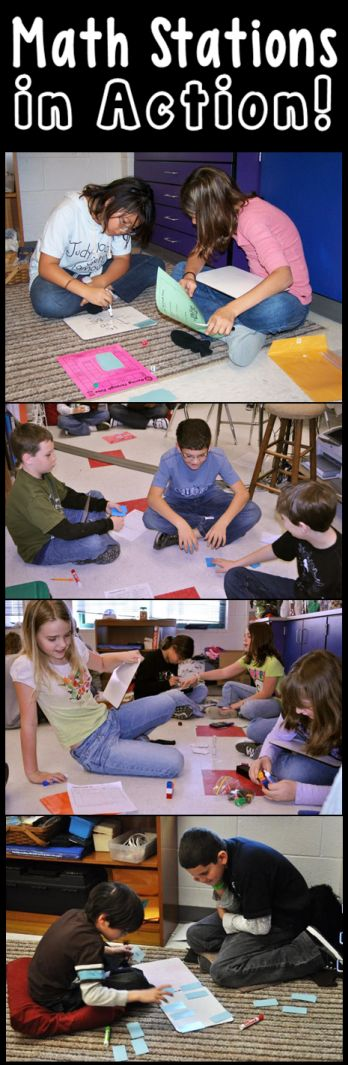 416 best math workshop images on pinterest math workshop guided math stations in action ive used a couple of laura candlers things for fandeluxe Choice Image