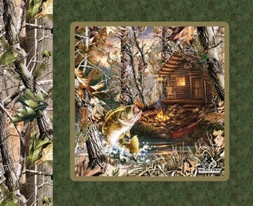 7 best images about quilt panels on pinterest green for Green top hunting and fishing