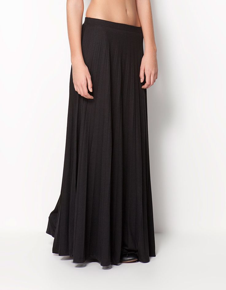 Bershka Malaysia - Bershka pleated skirt