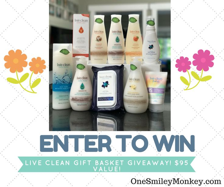 Celebrate Live Clean's 10th Anniversary {Gift Basket Giveaway}