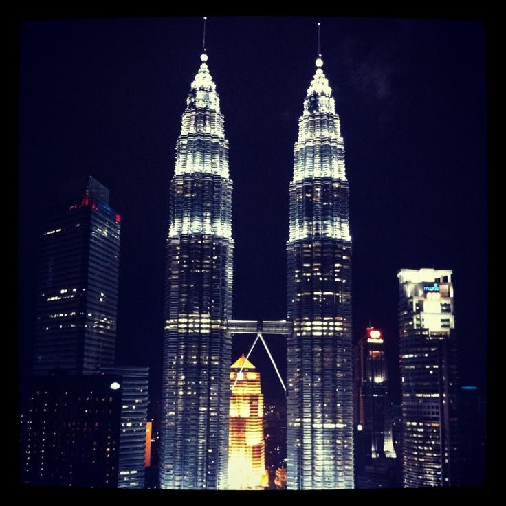Petronas Towers, KL, February 2013