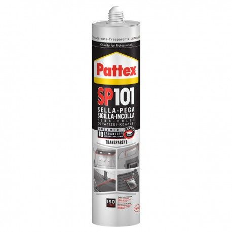 PATTEX SP101 Transparente Silicone Sigillante 280ml Henkel