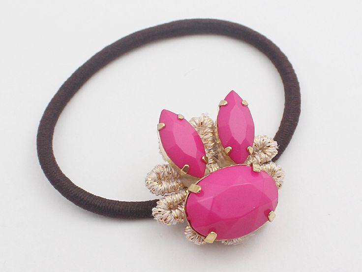 Rabbit cute elastic simple hairtie ponytail holder from violetcloset by DaWanda.com