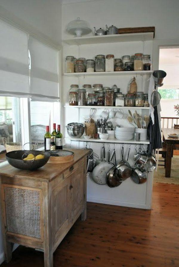 Küchenblock freistehend rustikal  Více než 25 nejlepších nápadů na Pinterestu na téma Küche ...