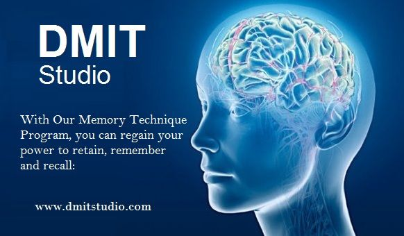 How to improve your memory learn here http://www.dmitstudio.com/