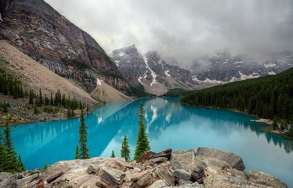 20 Places To See Before You Die, Moraine Lake, Canada