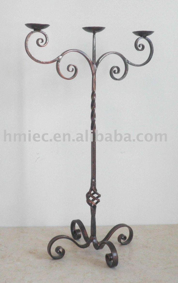 de hierro forjado de candelabros-Candelero-Identificación del producto:289401238-spanish.alibaba.com