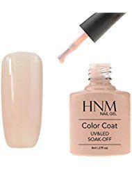 HNM Vernis A Ongles Semi Permanent Gel UV ou LED Soak Off Serie Shellac 90544
