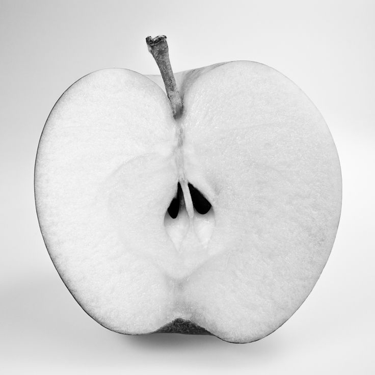 """Apple #2"", photograph on Hahnemuhle paper, by Caroline Kennedy"