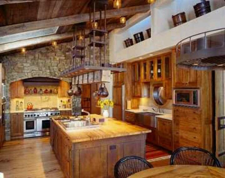 Rustic Home Design [ NYBiltong.com ] #rustic #spice #flavor. Western  Kitchen DecorRustic ...