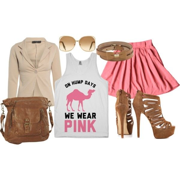 #meangirls #pink #camel #humpday #party #classy On Hump Days Mean Girls Wear Pink