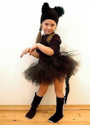 Как сделать карнавальный костюм черной кошки